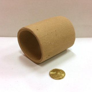 Short Wide Clay Tube