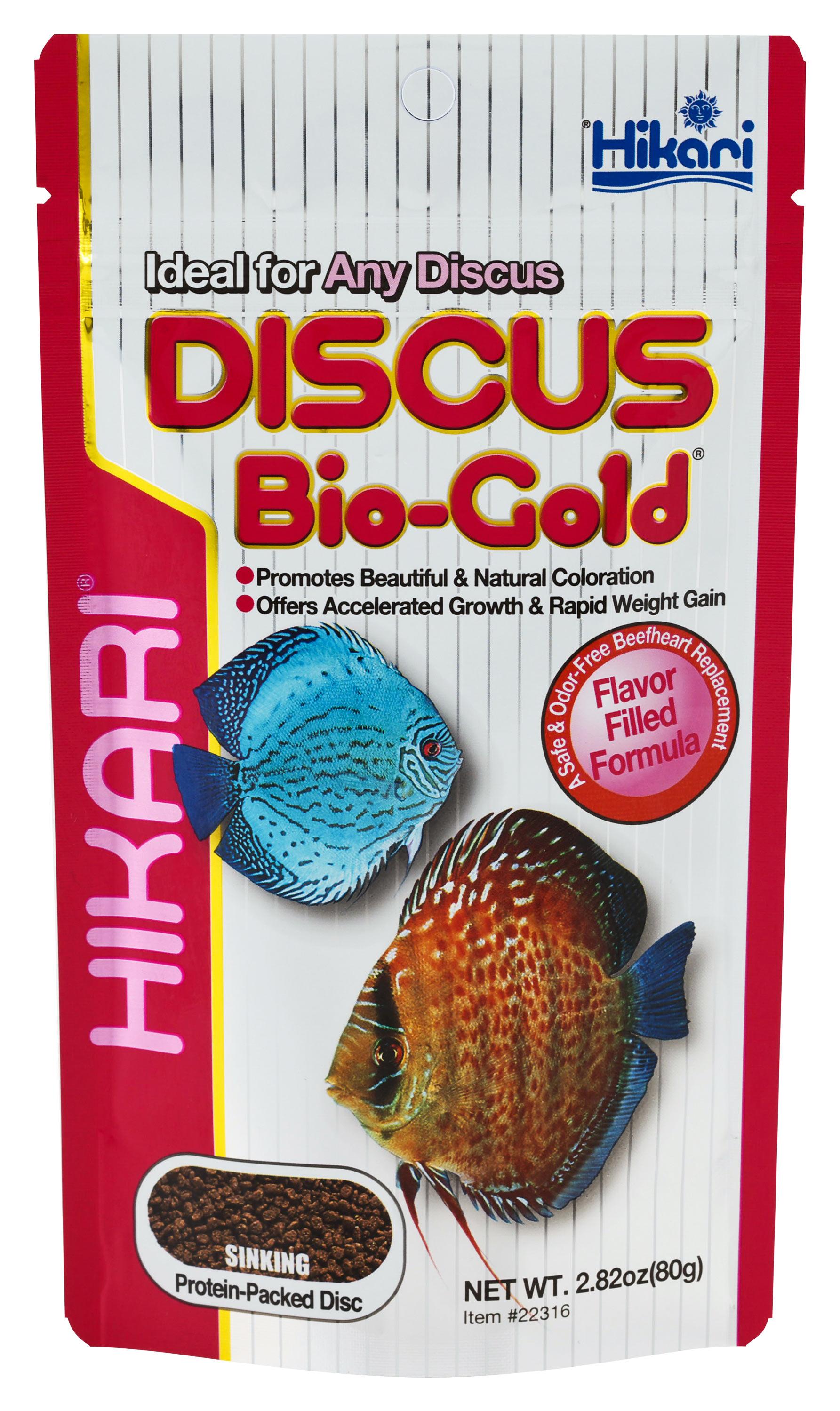 Hikari bio gold discus oz for Discus fish price