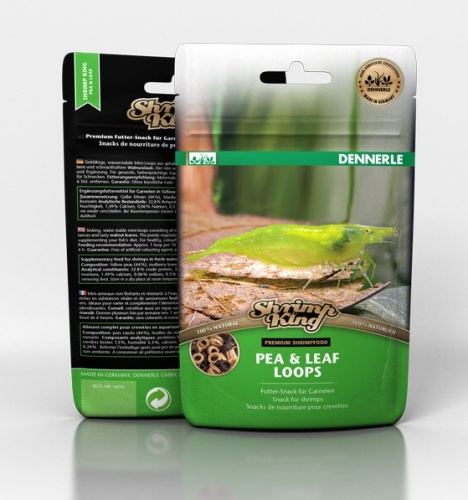 Dennerle Shrimp King Pea and Leaf Loops - 30 grams