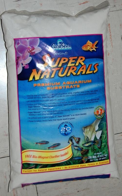 Caribsea Super Naturals Moonlight Sand 20lb 25 95